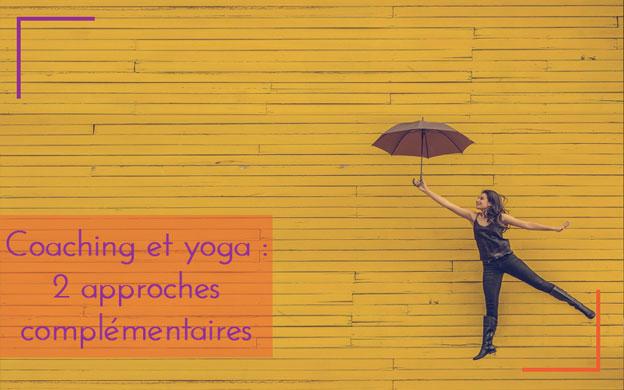 Yoga et coaching : 2 approches complémentaires